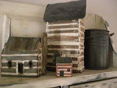 Like these log cabins...