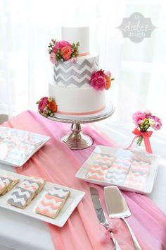 Top Chevron Cakes - Top Cakes -