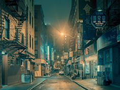 New York-based photographer Franck Bohbot has a knack for transforming a normally bustling location into a quiet and contemplative scene. In...