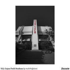 ULL Cajun Field Stadium Poster Cajun Field Stadium on the campus of University of Louisiana at Lafayette
