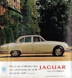 1966 Jaguar 3 8 Model s Sedan Original Color Ad | eBay