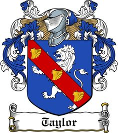 taylor Coat of Arms Shield | Taylour Family Crest / Irish Coat Of Arms Image Download