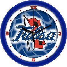 University of Tulsa Clock Dimensional Design Wall Clock