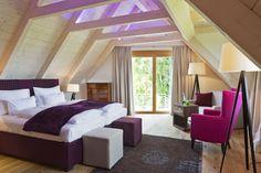 New romantic Hideaway: Vincent Breakfast Hotel, Lounge, Attic Rooms, Bunk Beds, Romantic, Flooring, Furniture, Ceiling, Home Decor
