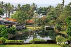 De la végétation à foissons !!! Moi je dirais que c'est un pays africain...Oui mais lequel ?  http://www.zoover.fr/cameroun/cameroun/douala/seme-beach/hotel/photos