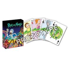 Your card games just got multi-dimensional thanks to these cool Rick and Morty Playing Cards. Now you can play all of your favorite card games with Rick and Student Lounge, Rick And Morty, New Toys, Your Cards, Card Games, Card Stock, Playing Cards, Entertainment, Earth