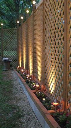 Fence line landscaping might be the very best addition to your fences. If you presently have a fence, you don't need to be concerned about permits. Exactly like the name implies, privacy fences are…MoreMore #landscapingdiy