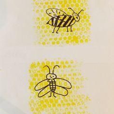 vytvorme si krásne včielky v medových plástoch