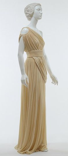 madame gres himation gown, 1967-85