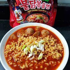"Why oh why.  #Repost @yennywu84  Pagi"" cobain yg pedassss mantap.. Morning all Yukkk sarapan dlu.... . . . . . . . . . . . . . . #samyang#samyangnoodles#noodles#noodle#bakso#homemade#homecooking#nonhala#spicyfood#pedas#maknyus#suka#makanterus#kuliner#makan#makanluar#01november2017#yummy#yum#nomnom#hot#red#ramen#spicy"