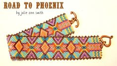 Julie Ann Smith Designs ROAD TO PHOENIX Odd Count Peyote