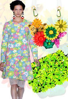 Abbigliamento donna: tutto a fiori per la Primavera/Estate 2012 - Style.it