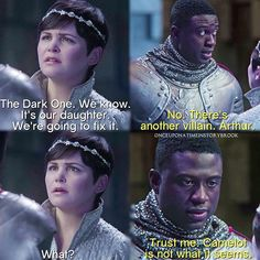 OUAT starts in 4 1/2 hours! Find out what the heck Lancelot is talking about! Who's gonna be watching?
