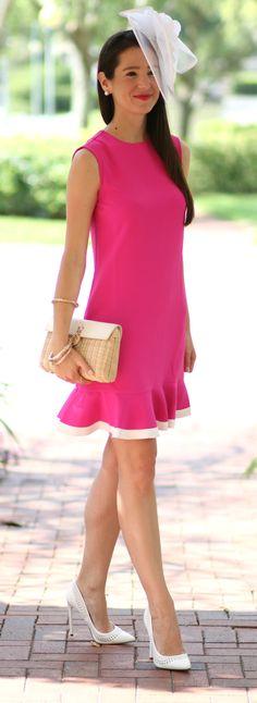af3f47e8f90912 Fuchsia Kentucky Derby Dress by Victoria Beckham x Target. Kentucky Derby  Dress · Kentucky Derby Fashion ...