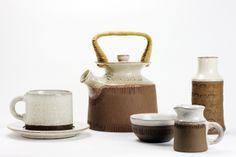 Signe Persson Melin for Boda Nova, Sweden Coffee Set, Coffee Cups, Elephant Life, Scandinavian Modern, Tea Set, Sweden, Pots, Porcelain, Pottery