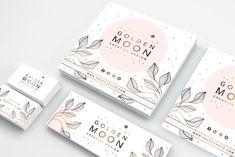 41 Ideas For Design Packaging Illustration Identity Branding Corporate Design, Brand Identity Design, Business Card Design, Identity Branding, Square Business Cards, Corporate Branding, Visual Identity, Creative Business, Graphisches Design