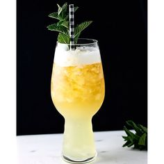 Spiced Pineapple Beertail. Get this and 50+ more Spring & Summer Cocktail recipes at https://feedfeed.info/springsummercocktails