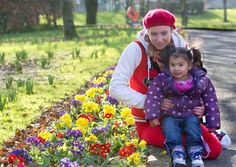 Amie Byrnes and her two-year-old daughter Alesha enjoying the sunshine in the People's Park in Limerick