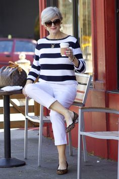 sporty stripes | style at a certain age