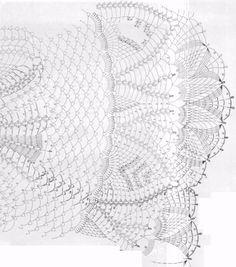 Tablecloth Spring  Crochet Pattern