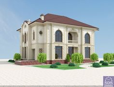 Uzbek style Villa in Tashkent by SDS PROEKT