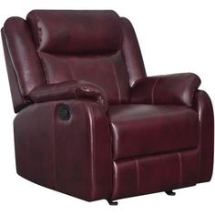 Global Furniture - Tuscany Glider Recliner - The rich contemporary design of the Tuscany Glider Recliner is an added plus for any living room. Contrast stitching enhances the great look of this piece. The full chaise pad seating adds a deep comfort, perfect for any living environment. Glide or Recline the choice is yours at the end of a busy day.  #home #design #interiordesign #decor #homedecor #furniture #recliner #chair #Tuscany #dream #onsale