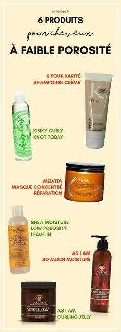Voici 6 produits pour cheveux naturels à faible porosité