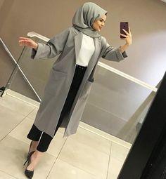 Modern Hijab Fashion, Islamic Fashion, Abaya Fashion, Muslim Fashion, Modest Fashion, Fashion Outfits, Hijab Style, Hijab Chic, Abaya Style