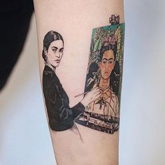Love Frida Kahlo Tattoos, source of inspiration - chic better - Best Nail Art Cool Small Tattoos, Trendy Tattoos, Unique Tattoos, Cute Tattoos, Tatoos, Frida Tattoo, Frida Kahlo Tattoos, Form Tattoo, Shape Tattoo