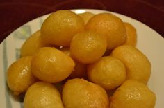 Cypriot honeyballs loukoumades