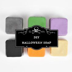 Halloween Soap - Make Your Own Melt And Pour Soap - Punky Moms http://punkymoms.com/punky-diy/holiday-crafts/halloween-soap/ #diy #tutorial #halloween #craft