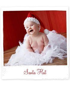 Gentry modeling for Design Revolution at just 6 months old!! Santa Hat from Design Revolution
