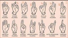 Mudra Miracles - Types and Benefits of Mudras for Healing Pranayama, Kundalini Yoga, Yoga Mantras, Yoga Quotes, Vedic Mantras, Quotes Quotes, Osho, Gyan Mudra, Hand Mudras