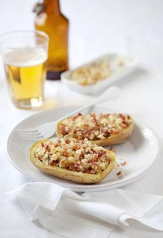 """Receta 231: Patatas rellenas con jamón » 1080 Fotos de cocina - proyecto basado en el libro """"1080 recetas de cocina"""", de Simone Ortega."""