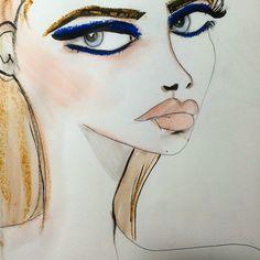 Wendy Buiter Ⓥ @wendybuiter Blue eyeshadow ...Instagram photo | Websta (Webstagram)