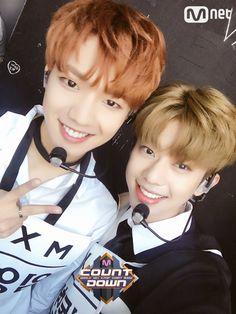 170914 #MXM #Youngmin & #Donghyun @M Countdown <3