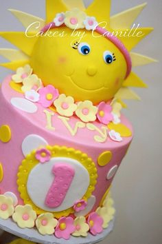 You are my Sunshine  Birthday Party Food Ideas and Recipes A bite of any of these food ideas will surely brighten up the day of your beloved family and friends who came to party. You are my Sunshine Birthday Party Cakes and Cupcakes