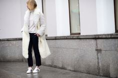 The Best Street-Style Photos From Mercedes-Benz Fashion Week Russia