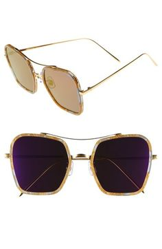 Gentle Monster 53mm Retro Square Sunglasses available at #Nordstrom