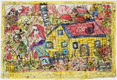 The art of Theo, in RV 44 http://rawvision.com/articles/theo  and in RV 81 http://rawvision.com/articles/theo-krusi