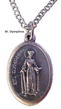 """Antique Finish Sterling Silver St Charm Lazarus Medal Pendant 18/"""" Box Chain"""