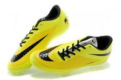 Nike Soccers Hypervenom Phantom AG Yellow Black Volt