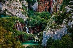 Plitvice Lakes National Park, Croatia. UNESCO World Heritage ✯ ωнιмѕу ѕαη∂у