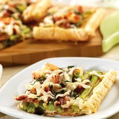 Pepperidge Farm® Puff Pastry - Recipe Detail - Asparagus, Prosciutto and Fontina Tart