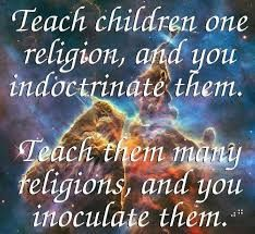 "Thank you to my Muslim Mother, who taught me the true non-religious teaching--one that is common sense, which I treasure. It's inviting and characterizes your acceptance of them, whoever and whatever they may be"" Secular Humanism, Anti Religion, Gentle Parenting, Mindful Parenting, World Religions, Atheism, Teaching Kids, Picture Quotes, Christianity"