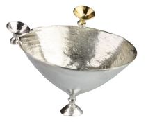 Silver couture bowl by @Anna Moltke-Huitfeldt #allgoodthings #danish #jewellery spotted by @missdesignsays