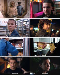 Eleven in Stranger Things - Season One versus Season Two