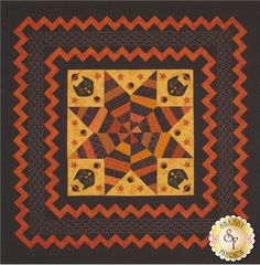 Quilt pattern by Wagons West - Halloween