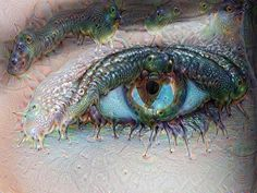 How do you get trippy caterpillar eyes?  1 part @katrinaroebuckmodel's eye  @artistrybyjacquie's makeup  1 part deep dream  #eye #eyes #deepdream #photography #photographer #photo #photooftheday #makeup #hair #ottawa #ottcity #613 #yow