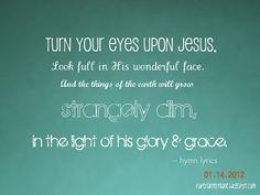 http://paperlanternlane.blogspot.com/2012/01/heartsongs-turn-your-eyes-upon-jesus.html